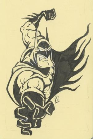 Batman gonna punch ya!